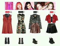 Blackpink Outfits pin von just me auf blackpink inspiriert outfits Blackpink Outfits. Here is Blackpink Outfits for you. Blackpink Outfits blackpink kill this love stage outfit outfit shoplook. Blackpink Outfits all o. Kpop Fashion Outfits, Blackpink Fashion, Stage Outfits, Korean Fashion, Fashion Looks, Pink Outfits, Edgy Outfits, Retro Outfits, Dress Outfits
