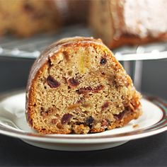 Barmbrack- A non-yeasted version of a traditional Irish fruitbread.