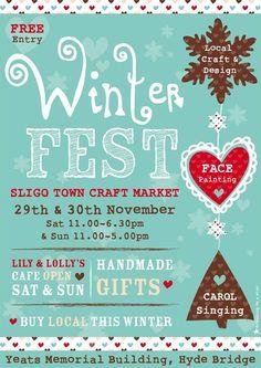 Sligo Town Craft Market, & of November 2014