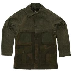 Nigel Cabourn Cape Cameraman Jacket (Army & Camo)
