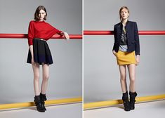 When your skirt feels too girly. These looks are perfect!