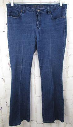 c52cd69dd2f02 Levi Strauss Jeans Womens Blue Boot Cut Misses Stretch Low Rise 10 Medium