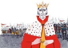 Jill Calder illustrates the story of Robert the Bruce