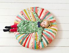 Love This.........RESERVED FOR CHARLOTTE  Large Floor Cushion  by BigBirdsBoutique, £157.00