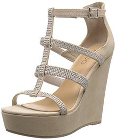 86ffa2a07df1 Aldo Women s Belladonna Wedge Sandal    Check this awesome image at Wedges  Shoes board