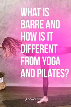 What is Barre and How is it Different from Yoga and Pilates? #yoga #pilates #barre #fitness Pilates Barre, Pilates Reformer, Lotte Berk, Barre Fitness, Physical Therapy Exercises, Joseph Pilates, Aerobics Workout, Improve Flexibility