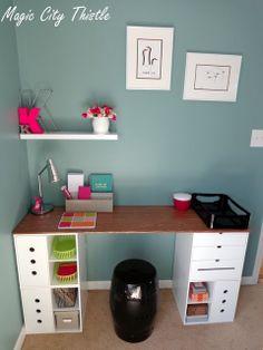 DIY desk! need a desk for alll my wedding planning this year!