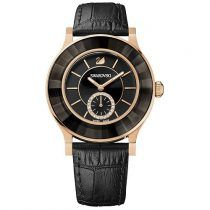 Swarovski Swarovski Octea Classica Black Rose Gold Tone Watch  Rose gold-plated