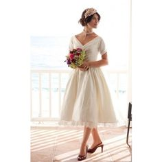 """Dolly Couture has gorgeous 50's inspired wedding dresses, this is """"The Beverlywood"""""""