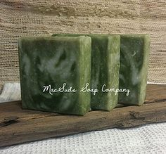 Tea Tree handcrafted natural soap Beautiful natural bar of soap with refreshing tea tree pure essential oil.