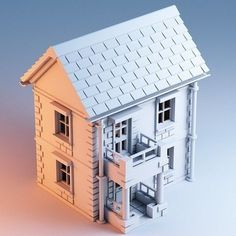 #3DPrinted #3DPrinting #Architecture #House #Model Maybe something for 3D Printer Chat?