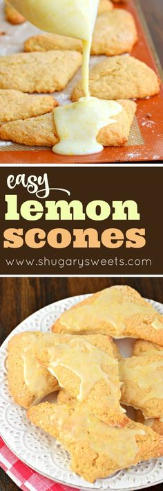 No trip to a fancy bakery needed to enjoy these Lemon Scones. Simple ingredients, a little love, and you'll have a batch of these freezer friendly scones in no time!