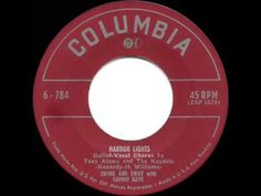 ▶ 1950 HITS ARCHIVE: Harbor Lights - Sammy Kaye (a #1 record) (Tony Alamo & Kaydets, vocal) - YouTube