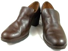 B.O.C. Born Loafers Womens Size 10 M Brown Leather Shoes #BOCBorn #LoafersMoccasins