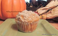 Walking on Sunshine: Pumpkin Muffins with Streusel Topping