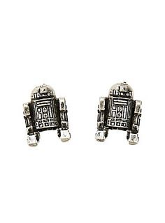 Star Wars R2-D2 earrings - droids for your lobes.