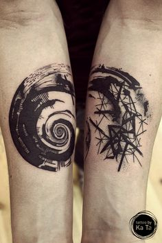 spiral - tattoo and design by Ka Ta www.facebook.com/tattoo.by.KaTa