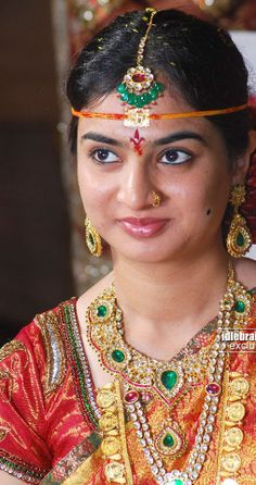 Jewellery Designs: Chota K Naidu Daugter Wedding jewellery
