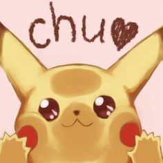 Here's a Pikachu kissing your screen to make you happier