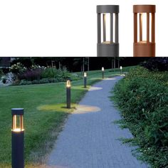 Rimo LED Stolpe 65 cm - Nyt fantastiske sommerkvelder ute med denne stilige utendørslampen. Rimo passer perfekt både i hage og på terrasse. Med en høyde på 65 centimeter fører Rimo deg langs stier og plener, eller gir koselig belysning av omgivelsene. Lampen er utstyrt med integrert LED-lyskilde og du kan dermed dra nytte av strømbesparende og moderne design samt en elegant glød. Kommer i sort og rust.