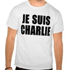 JE SUIS CHARLIE t-shirts