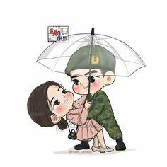 Fanart i am not a robot Cute Love Pictures, Cute Cartoon Pictures, Cute Love Cartoons, Cute Couple Art, Anime Love Couple, Couple Cartoon, Chibi, Korean Art, Korean Drama