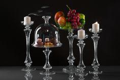 Gabriela Seres- Classic-modern home decor and event handmade glassware Fruit Stands, Cake Stands, Candleholders, Candelabra, Special Occasion, Wedding Decorations, Vase, Handmade, Design