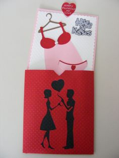Cricut Valentine Slider Card