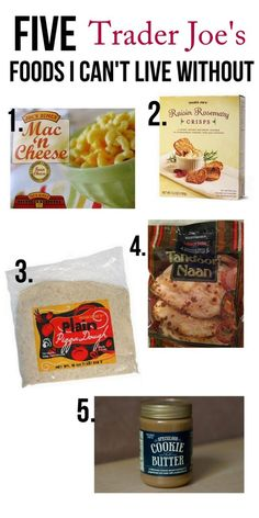 BEST Trader Joe's foods...go add yours to the list.