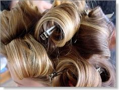 Tips on rolling hair in curlers correctly