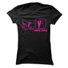 I Love Just Married & Game Over Shirts & Tees