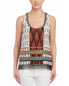 Nicole Miller Artelier Tribal Mash Tank is on Rue. Shop it now.