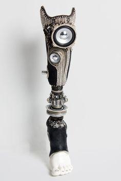 The Alternative Limb Project - Steampunk prosthetic limb