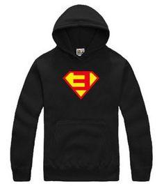 37c190171f9 Eminem E-superman logo pullover Rock Hoodie sweatshirt