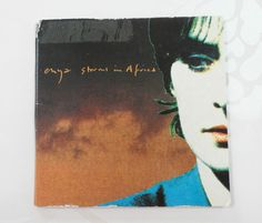 Enya Storms in Africa  1989 2 Track Three Inch Mini CD Gatefold Card Sleeve
