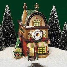 Department 56 Mini Donut Shop By North Pole 56702