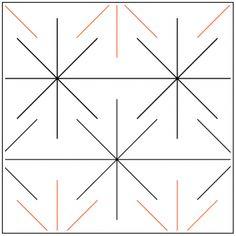 Little Bit of Stars - Pantograph Longarm Quilting, Free Motion Quilting, Quilting Designs, Quilting Ideas, Punch Needle, Quilt Patterns, Stencils, Cool Designs, Quilts
