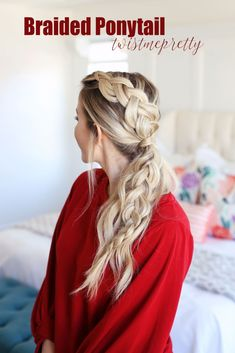 Beautiful ponytail from Twist Me Pretty!