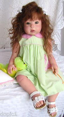 "Nancy's Lil Darlings KATHY by Regina Swialkowski 30"" Toddler Girl Reborn"