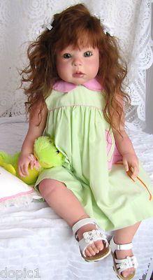 "Nancy's Lil Darlings KATHY by Regina Swialkowski  30"" Toddler Girl  Reborn"