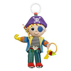 Lamaze Yo Ho Horace - Clip On Pram and Pushchair Newborn Baby Toy Pirate - Suitable from Birth Lamaze Toys, Baby Sense, Prams And Pushchairs, Skull And Crossbones, Toy Store, Baby Toys, Baby Baby, Kids Toys, Little Ones