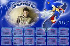 Recursos Photoshop Llanpac: Calendario para el 2017 de Sonic para Photoshop (P...
