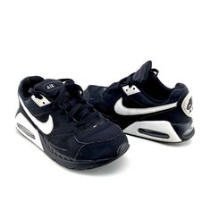 NIKE AIR MAX COMMAND TRAINERS BLACK & WHITE UK 4 GIRLS BOYS EUR 36.5 US 4.5Y Nike Air Max Command, Air Max Sneakers, Sneakers Nike, Click Photo, Boots For Sale, Boys Shoes, My Ebay, Trainers, Shoe Boots