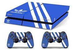 Skin PS4 HD ADIDAS ORIGINAL limited edition Playstation 4 DECAL