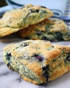 Jane's Sweets & Baking Journal: Blueberry Buttermilk Scones . . .