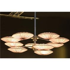 Transitional Chandelier from Aqua Creations, Model: Sunsa Collection