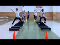 Agility training for fencing - Part I - YouTube