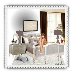 """""""Doing The Sunday Crossword Puzzle...by tt"""" by fowlerteetee ❤ liked on Polyvore featuring interior, interiors, interior design, home, home decor, interior decorating, Ballard Designs, Belle Maison, PBteen and Hickory Chair Furniture"""