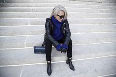 sara-che-blk-dnm-jacket-8-chanel-boy-bag-ss-15-blue-pointy-zara-booties-persian-iranian-swedish-blogger-celine-havana-sunglasses- // street style