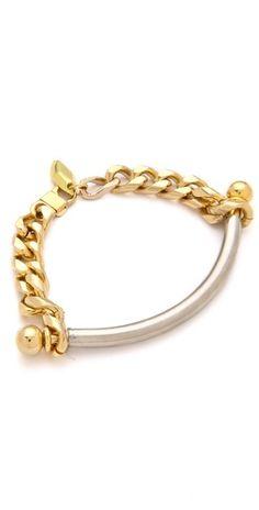 """Tube Chain Bracelet"" - simply the perfect chain bracelet"